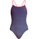Funkita Diamond Back One Piece Baddräkt Barn pink/violett